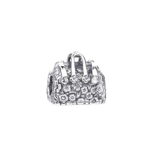 925 Sterling Silver Mary Poppins Bag Charm Bead