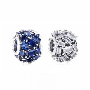 925 Sterling Silver Chiselled Elegance Charm Bead