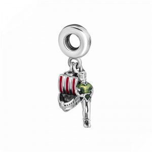 925 Sterling Silver Parks Peter Pan and Flying Ship Exclusive Charm Bead