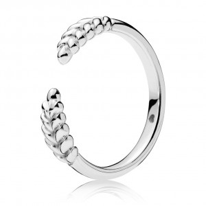 925 Sterling Silver Open Grains Ring