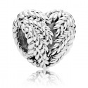 925 Sterling Silver Icon of Nature Charm Bead